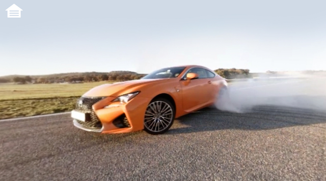 Lexus Virtual Drive